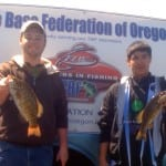 Josh Abernathy and Nick Chin representing Estacada HS